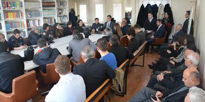 TBB Başkanı Sn. Av. Prof. Dr. Metin FEYZİOĞLU Baromuzu Ziyaret Etti.