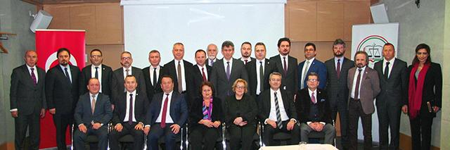 Genişletilmiş Ege ve Marmara Baro Başkanları Toplantısı İstanbul'da Yapıldı