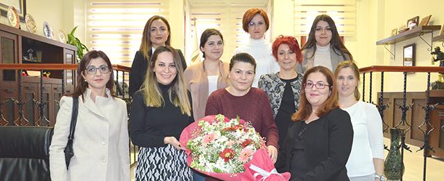 SMMMO Kadın ve Kadın Hakları Komisyonu'ndan Baromuza Ziyaret