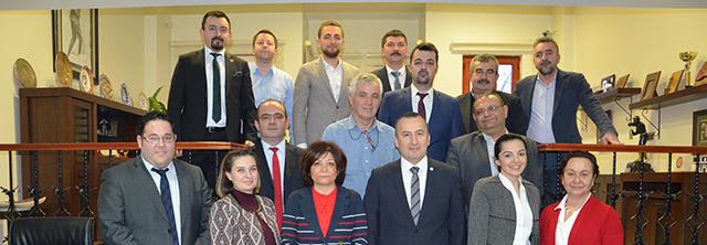 Baro Yönetim Kurulumuz İlçe Temsilcileri ve Stajyer Avukatlar ile biraraya Geldi