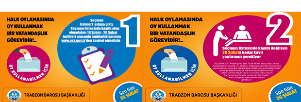 Halk Oylamasında Oy Kullanmak Bir Vatandaşlık Görevidir.