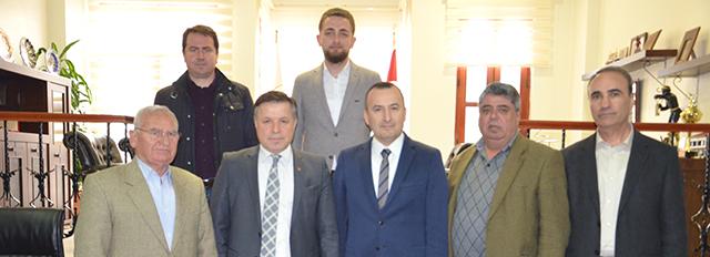 CHP Merkez İlçe Yönetimi'nden Baromuza Ziyaret