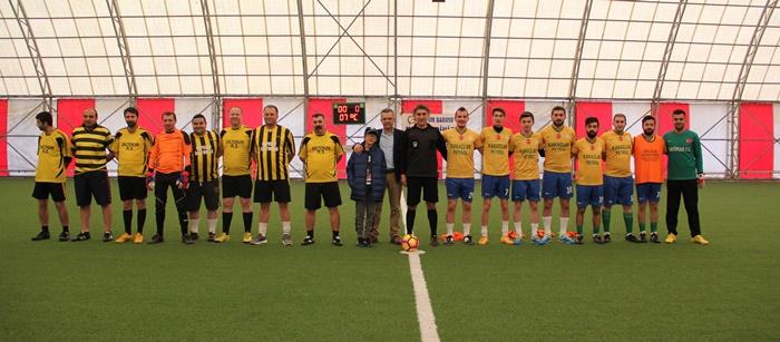 10. Halı saha Futbol Turnuvası 1. Hafta Maçları