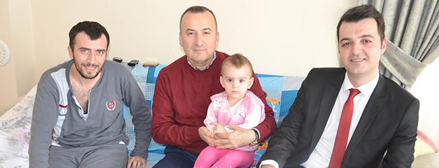 El Bab Gazisi İsmail Çolakoğlu'na Ziyaret