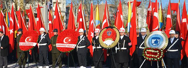 18 Mart Şehitleri Anma ve Çanakkale Deniz Zaferi 102. Yılı Törenleri