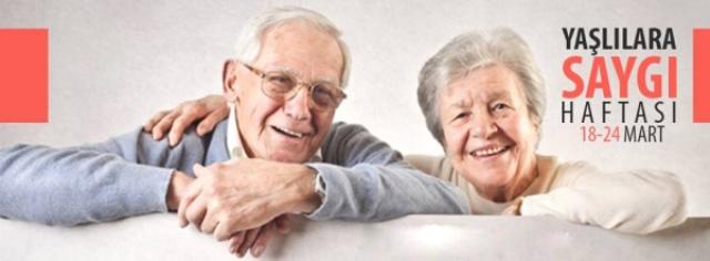 Yaşlılara Saygı Haftası 18-24 Mart