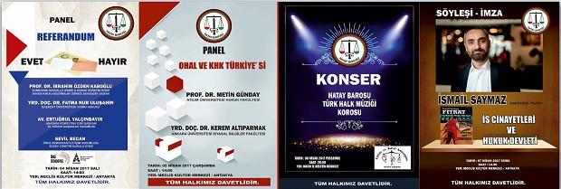 5 Nisan Avukatlar Haftası Etkinlikleri