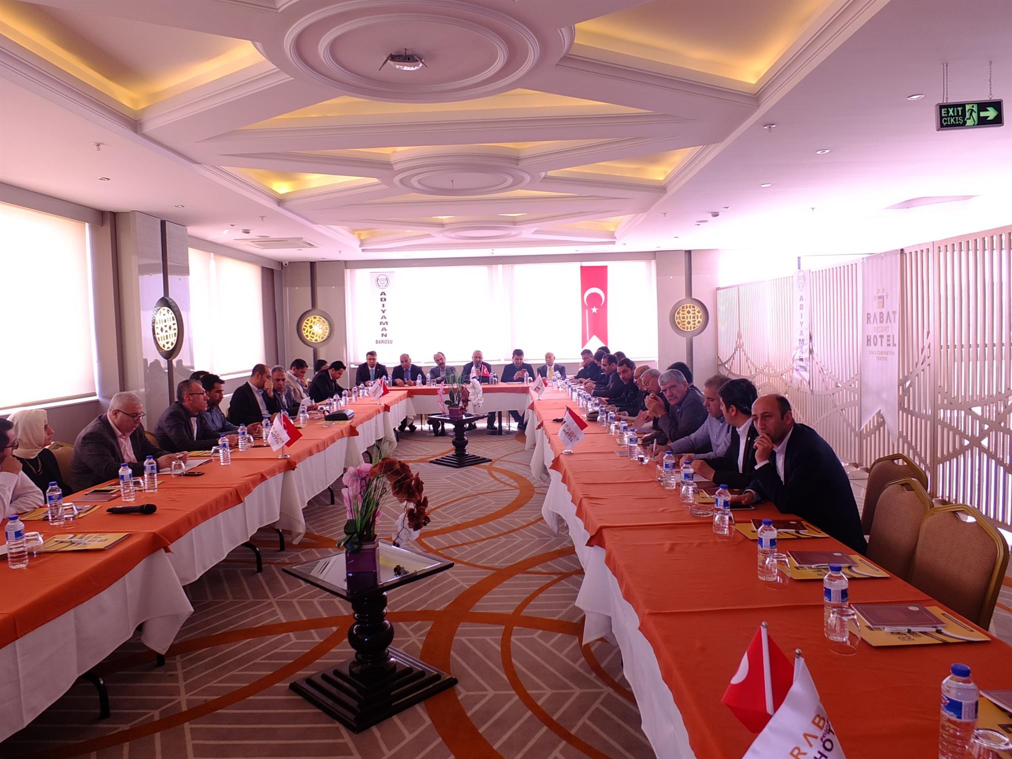 Doğu ve Güneydoğu Bölge Baro Başkanları Basın Açıklaması
