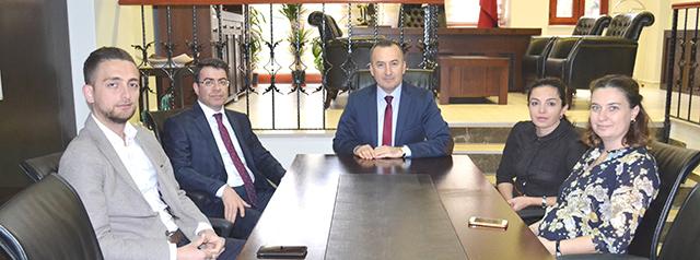 Adalet Komisyonu Başkanı Baromuzu Ziyaret Etti