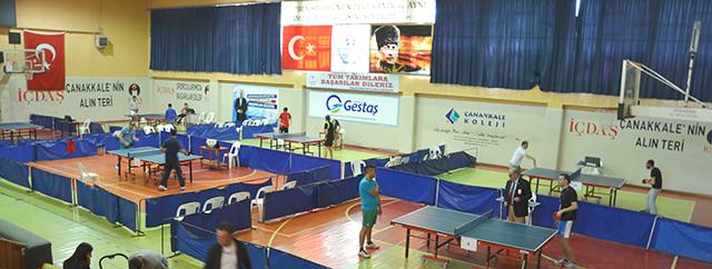 Çanakkale Barosu Masa Tenisi Turnuvası Sonuçlandı