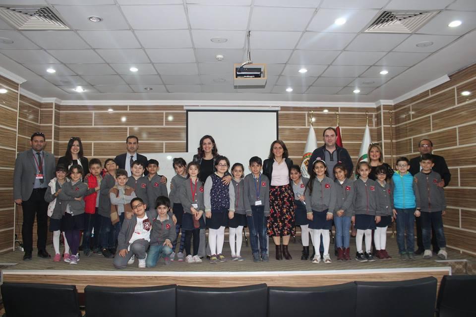Bahçeşehir Koleji Öğretmen Ve Öğrencileri  Baromuzu Ziyaret Etti