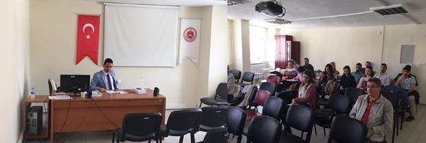 Staj Eğitim Programı'nın altıncısı 10.04.2017 tarihlerinde yapıldı.