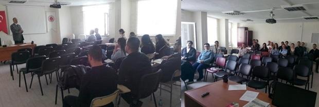 Staj Eğitim Programı'nın altıncısı 12.04.2017 tarihlerinde yapıldı.