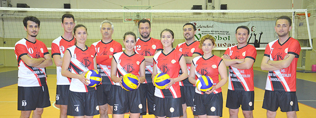 3. Geleneksel Kurumlar Arası Voleybol Turnuvası Başladı