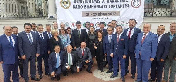 GENİŞLETİLMİŞ 9.KARADENİZ BARO BAŞKANLARI TOPLANTISI