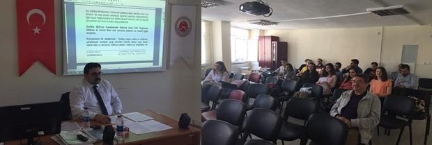 Staj Eğitim Programı'nın sekizincisi 26.04.2017 tarihlerinde yapıldı.