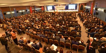 TBB' nin 34. Olağan Genel Kuruluna Baro Başkanı Av. Erol ÇAKIR, TBB Delegeleri Av. Namık ERKANLI ve Av. Mustafa AKYILDIRIM Katıldı