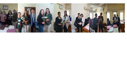 Kadın Hakları Komisyonumuz Anne Hakim, Avukat, Adliye Çalışanlarının Anneler Gününü Kutladı