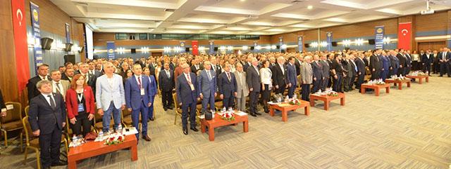 Türkiye Barolar Birliği 34. Olağan Genel Kurulu Gerçekleşti, Av.Prof.Dr. Metin Feyzioğlu Yeniden Başkanlığa Seçildi