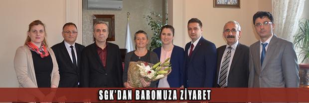SGK'dan Baromuza Ziyaret