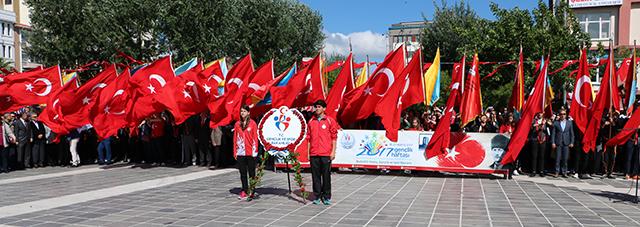 19 Mayıs Atatürk'ü Anma, Gençlik ve Spor Bayramı Coşkuyla Kutlanıyor
