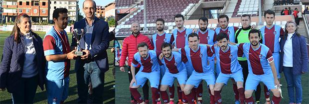Trabzon Barosu Futbol Takımımız ikinci olmuştur