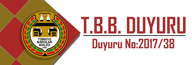 TBB DUYURU NO: 2017/38