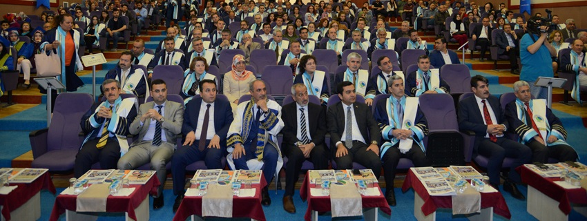 Ahi Evran Üniversitesi 2016-2017 Akademik Yılı Mezuniyet Töreni Açılış Programı