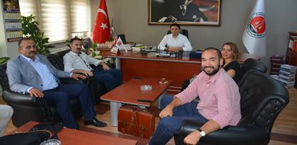 Kırıkkale Kamusen İl Başkanlığı Baromuzu Ziyaret Etti