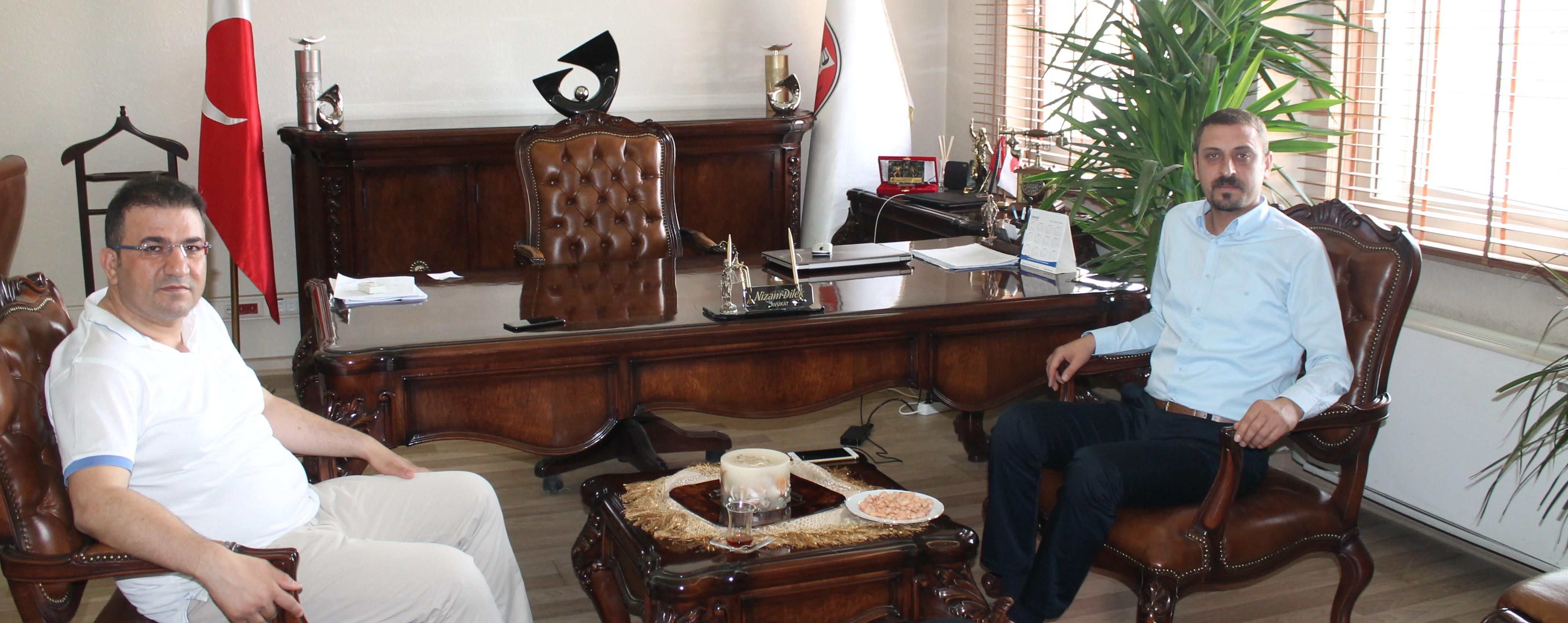 Av. Ahmet ÖZMEN Baro Başkanlığımızı ziyarette bulundular.