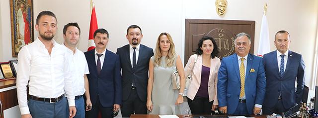 Adalet Komisyonu Başkanı'na Ziyaret
