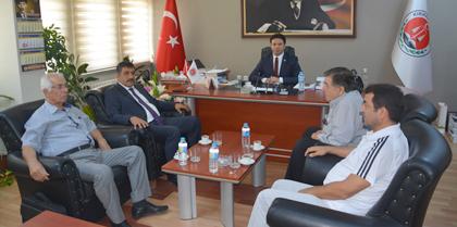 Kırıkkale Cumhuriyet Başsavcısı Erdoğan BAYRAKDAR' dan Baromuza İade-i Ziyaret