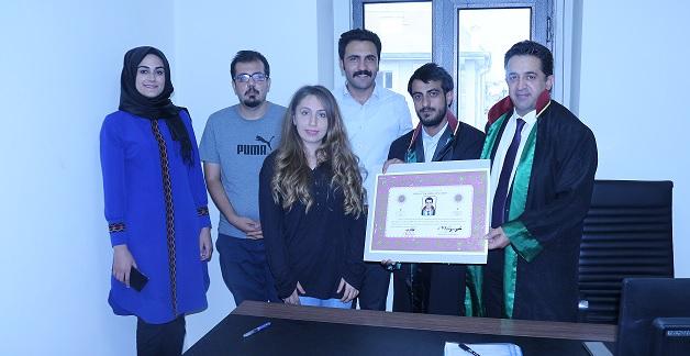 AVUKAT AGİT ALPARSLAN'A AVUKATLIK RUHSATNAMESİ VERİLMESİ HAKKINDA