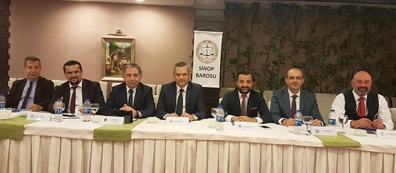 SİNOP'TA GERÇEKLEŞTİRİLEN 11.KARADENİZ BARO BAŞKANLARI TOPLANTISI
