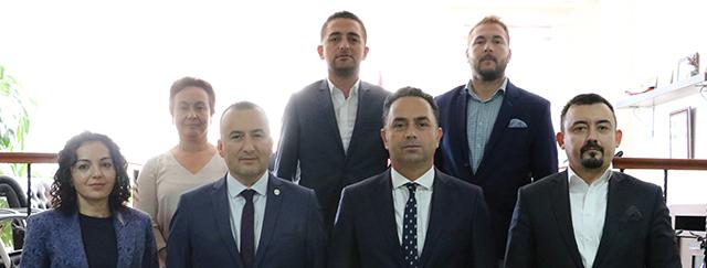 Cumhuriyet Başsavcısı Ömer Karişit Baromuzu Ziyaret Etti