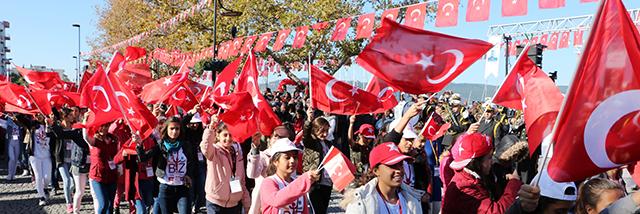 Cumhuriyetimizin 94. Yılı Kutlamaları Coşkuyla Devam Ediyor