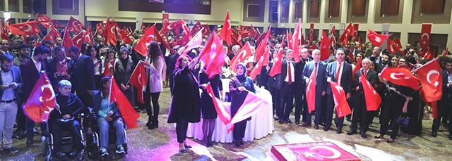 Başkanımız Av. Bülent Şarlan, Cumhuriyet Bayramı Resepsiyonu Katıldı
