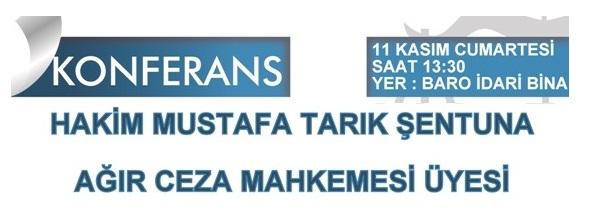 Hakim Mustafa Tarık Şentuna'dan Konferans