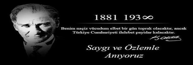 10 Kasım Atatürk' ü Anma ve Atatürk Haftası Basın Açıklaması