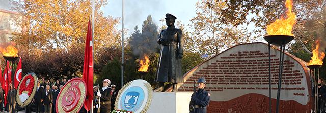 Atatürk, Ebediyete İntikalinin 79. Yılında Özlemle Anıldı