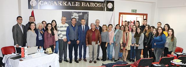 Hâkim Mustafa Tarık Şentuna'dan Konferans