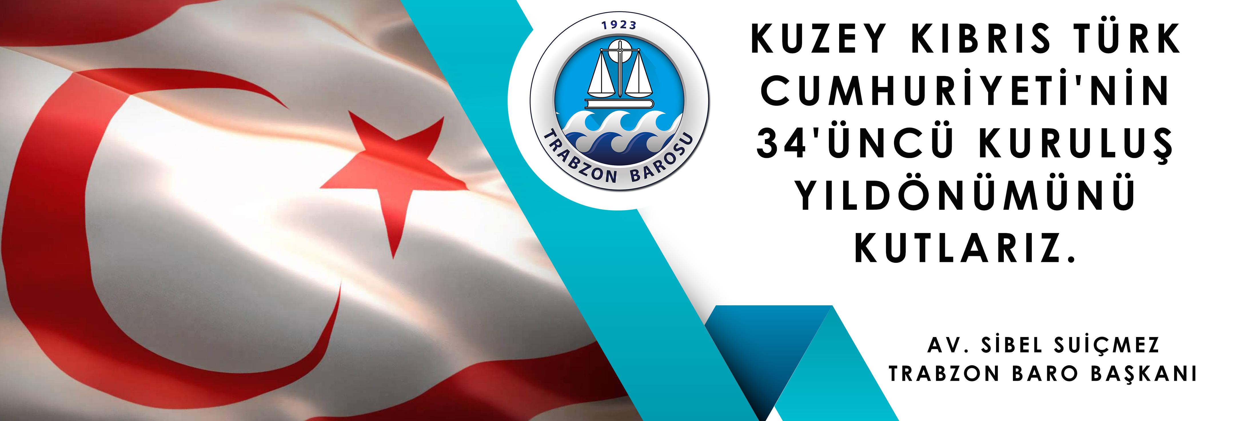 KKTC 34. yaşı kutlu olsun