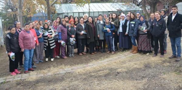 Kadın Hakları Komisyonumuz  Kadın Çalışanları Ziyaret Etti