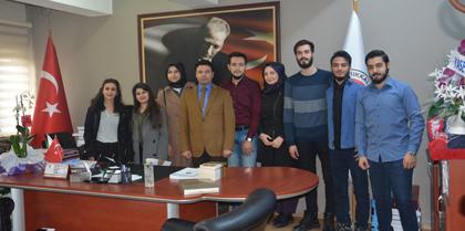 K.Ü. Genç Hukukçular Topluluğu Baromuzu Ziyaret Etti