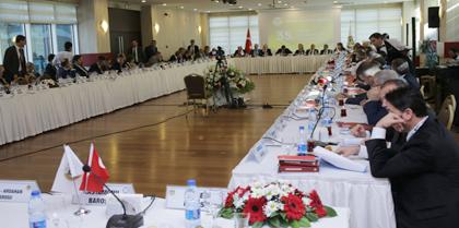 35. Baro Başkanları Toplantısına Baro Başkanı Av. Erol ÇAKIR Katıldı