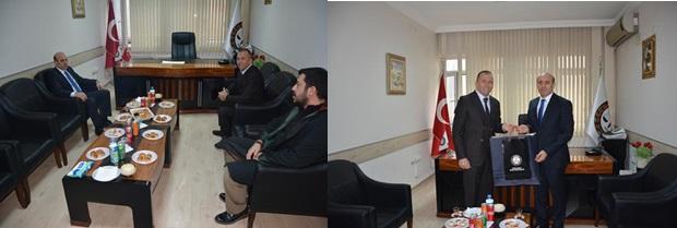 Kırklareli Valisi Sayın Orhan ÇİFTÇİ'den Baromuza ziyaret