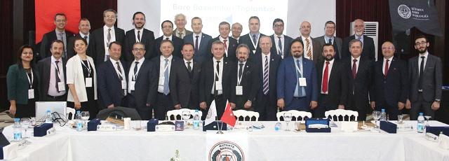 Genişletilmiş Ege-Marmara Bölge Baro Başkanları Toplantısı Kütahya'da Yapıldı