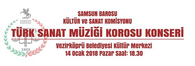 TÜRK SANAT MÜZİĞİ KOROSU KONSER